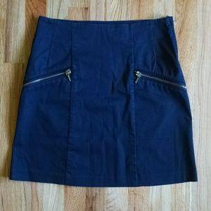 H&M black mini skirt size 6